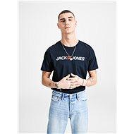 Modré tričko s potiskem & Jones - Pánské tričko