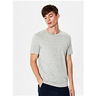 Šedé basic tričko Selected Homme The Perfect - Pánské tričko