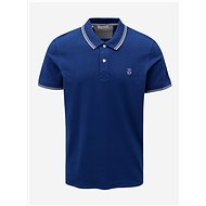 Tmavě modré polo tričko Selected Homme New Season - Pánské tričko