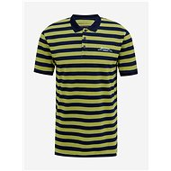 Green striped polo shirt ONLY & SONS Even - Men's Shirt