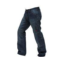Spark Track, modré 32 - Kalhoty na motorku