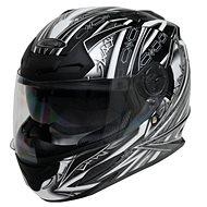 Cyber US-100 černo bílá 2XL - Helma na motorku