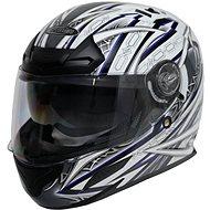 Cyber US-100 bílo modrá 2XL - Helma na motorku