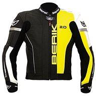 Berik LJ-10540-BK, yellow XL - Motorcycle jacket
