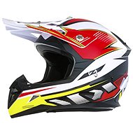 ZED X1.9D (bílá/černá/červená/žlutá, vel. S) - Helma na motorku
