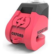 OXFORD zámek kotoučové brzdy Scoot XD5, (růžový/černý, průměr čepu 6mm) - Zámek na motorku