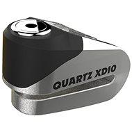 OXFORD zámek kotoučové brzdy Quartz XD10, (broušený kov, průměr čepu 10mm) - Zámek na motorku