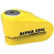 OXFORD zámek kotoučové brzdy Alpha XD14 - Zámek na motorku