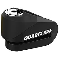 OXFORD zámek kotoučové brzdy Quartz XD6, (černý, průměr čepu 6mm) - Motozámek