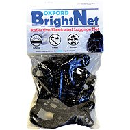 OXFORD flexible luggage net XL for motorcycles, (38 x 38 cm, black / reflective) - Accessories