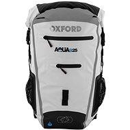 OXFORD vodotěsný batoh Aqua25R, (bílá/šedá), objem 25l - Moto batoh