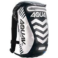 OXFORD vodotěsný batoh Aqua V12 Extreme Visibility, (černá/reflexní prvky) objem 12l - Moto batoh