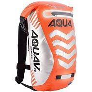 OXFORD vodotěsný batoh Aqua V12 Extreme Visibility, (oranžová fluo/reflexní prvky), objem 12l - Moto batoh