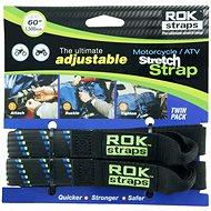 OXFORD popruhy ROK straps HD nastavitelné a zesílené, (černá/modrá/zelená) - Upínací popruh