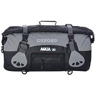 OXFORD vodotěsný vak Aqua20 Roll Bag, (černý/šedý, objem 20l) - Vodotěsný vak