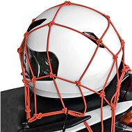 OXFORD flexible luggage net for motorcycles, (30x30 cm, red) - Accessories