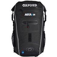 OXFORD vodotěsný batoh Aqua25R, (černá/šedá, objem 25l) - Moto batoh