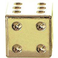 OXFORD kovové čepičky ventilků Lucky Dice, (zlatá) - Čepičky na ventilky