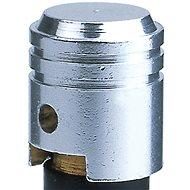 OXFORD kovové čepičky ventilků imitace píst, (stříbrná) - Čepičky na ventilky