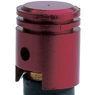 OXFORD kovové čepičky ventilků imitace píst, (purpurový elox) - Čepičky na ventilky