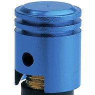 OXFORD kovové čepičky ventilků imitace píst, (modrý elox) - Čepičky na ventilky