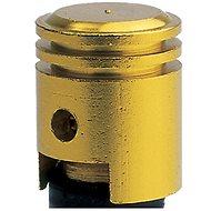 OXFORD kovové čepičky ventilků imitace píst, (zlatý elox) - Čepičky na ventilky