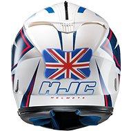 OXFORD protektor laku přilby Helmet Bumper Union Jack, - Protektor