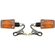 OXFORD blinkr Mini krátký, (oranžové sklíčko, černý plášť, pár) - Blinkry na motorku
