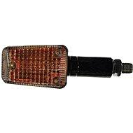 OXFORD blinkr Mini dlouhý, (oranžové sklíčko, černý plášť, pár) - Blinkry na motorku