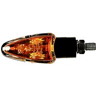 OXFORD blinkr Arrow krátký, (oranžové sklíčko, černý plášť, pár) - Blinkry na motorku