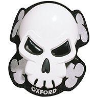 OXFORD slidery Skull, (bílé, pár) - Slidery na kolena