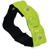 OXFORD Reflex Tape with 4 LEDs Bright Band Plus, (Yellow Fluo) - Reflective Element