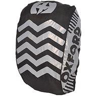 OXFORD reflexní obal/pláštěnka batohu Bright Cover, černá/reflexní prvky - Pláštěnka