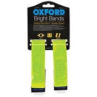 OXFORD reflexní pásky Bright Bands na suchý zip, (žlutá fluo, pár) - Reflexní prvek