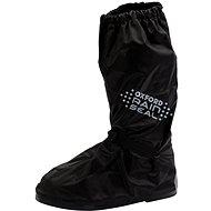 OXFORD návleky na boty RAIN SEAL s reflexními prvky a podrážkou,  (černá, vel. L) - Návleky