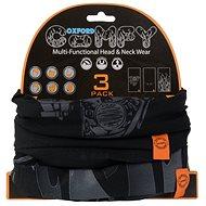OXFORD nákrčníky Comfy Harley Davidson Graphics, (sada 3ks) - Nákrčník