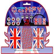 OXFORD nákrčníky Comfy Union Jack, (sada 3ks) - Nákrčník