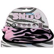 OXFORD nákrčník Snug Pink Zebra,  - Nákrčník