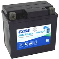 EXIDE BIKE Factory Sealed 4Ah, 12V, AGM12-5 (YTX5L-BS)  - motobaterie
