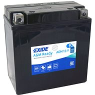 EXIDE BIKE Factory Sealed 9Ah, 12V, AGM12-9 (YB9-B)  - Motobaterie