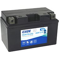 EXIDE BIKE Factory Sealed 8,6Ah, 12V, AGM12-8 (YTZ10-BS)  - motobaterie