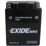 EXIDE BIKE Factory Sealed 12Ah, 12V, AGM12-14 (YTX14AHL-BS)  - motobaterie