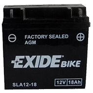 EXIDE BIKE Factory Sealed 18Ah, 12V, AGM12-18 (GARDEN)  - motobaterie