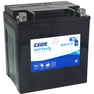 EXIDE BIKE Factory Sealed 30Ah, 12V, AGM12-31 (YIX30L-BS)  - motobaterie