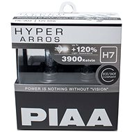 Light bulbs PIAA Hyper Arros 3900K H7 - 120 percent higher luminance, increased brightness - Car Bulb