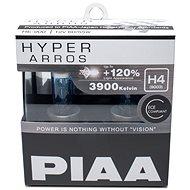 PIAA Hyper Arros 3900K H4 - o 120 procent vyšší svítivost, zvýšený jas - Autožárovka