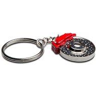 Přívěsek na klíče - vrtaný brzdový kotouč s třmenem - Přívěsek na klíče