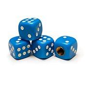 Valve Caps Playing Cubes Blue, 4pcs - Accessories