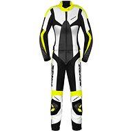 Spidi POISON TOURING, dámská (černá/bílá/žlutá, vel. 38) - Moto kombinéza