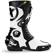 XPD VR6 (Black / White, Size 45) - Motorcycle shoes